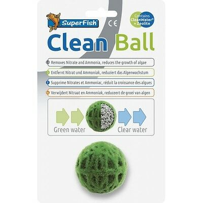 Superfish Clean Ball Carbon Zeolite Filter Media Moss Ball Decoration