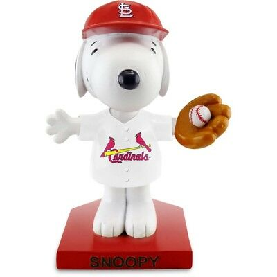 St Louis Cardinals Peanuts Night Snoopy Bobblehead Limited Sga 6/27/2018 @ Busch