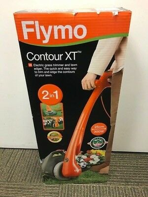 Flymo Contour Corded XT Strimmer Electric Grass Trimmer & Lawn Edger (3045420B)