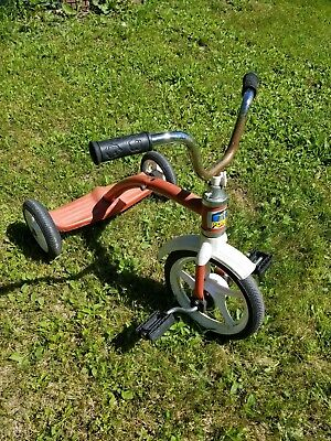 TRIKES & BIKES VINTAGE AMF TRICYCLE - ANTIQUE 1970s 80s? Pony made in italy!