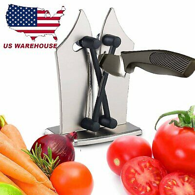 Hard Fast Kitchen Knife Sharpener Tool Sharpens Hones & Polisher On TV BD USA