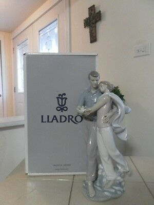 Lladro You'Re Everything To Me 6842 Mint Condition With Box Fast Shipping