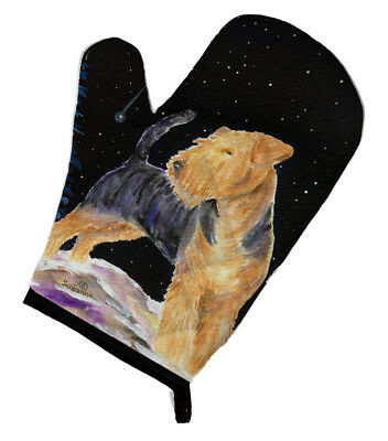 Carolines Treasures  SS8464OVMT Starry Night Welsh Terrier Oven Mitt