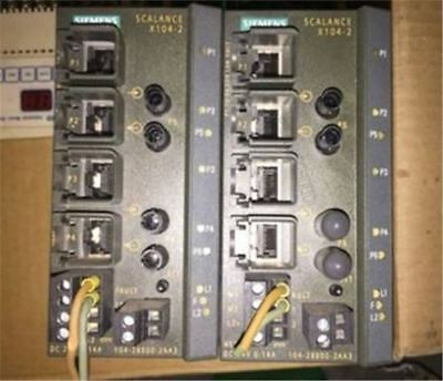 Used 1Pc Siemens Plc Module 6GK5104-2BB00-2AA3 Tested re