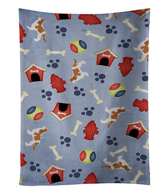 Cavalier King Charles Spaniel Dog House Collection Kitchen Towel