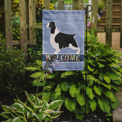 Carolines Treasures  BB8273GF English Springer Spaniel Welcome Flag Garden Size