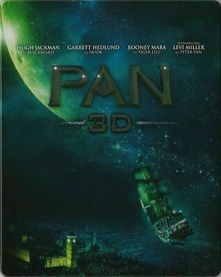 Pan 3D - Limited Edition Steelbook [Blu-ray 3D + Blu-ray] New and Sealed!!