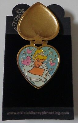 Disney DLR Princess Heart Series Cinderella Hinged Pin