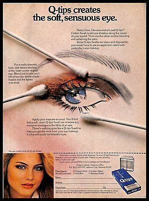 1968 Vintage Jacqueline Cochran Eye Make-up Lipstick Cosmetic Ad Low Price Other