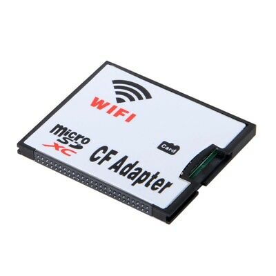 WIFI Adapter Memory Card TF Micro-SD to CF Compact Flash Card Kit for Digit D6P8