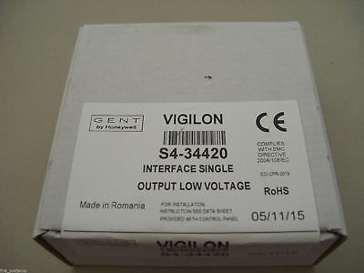 Gent S4-34420 Addressable Single Input / Output Interface  - Brand New In Box