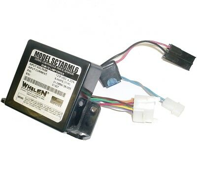 Whelen SCTARML6 Serial Controlled Traffic Advisor Remote Lamp Driver