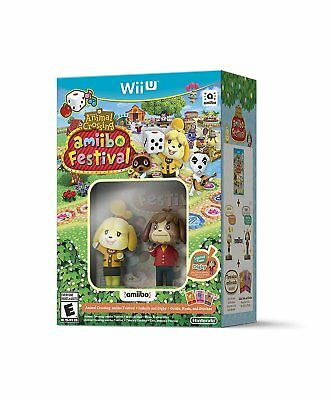 Animal Crossing: amiibo Festival + Amiibo [Wii U] New and Sealed!!