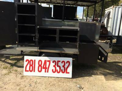 New 2018 Smoker Trailer Without Top
