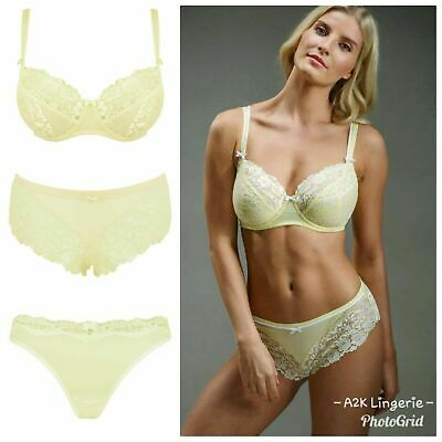 Pour Moi Fever Sunshine Underwired Bra or Short or Brazilian Brief