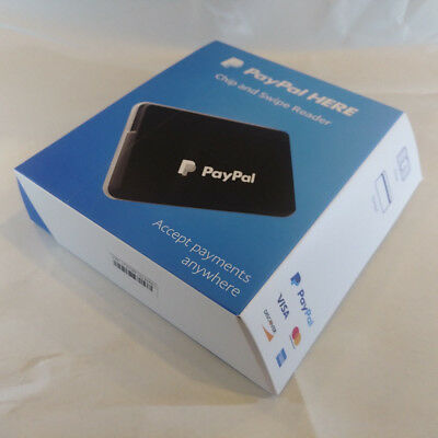 PayPal HERE Chip and Swipe Reader Card Reader Brand New Sealed Box