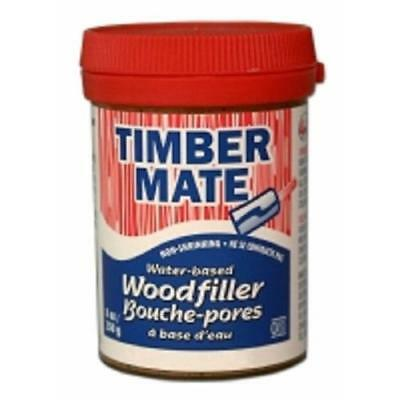 Timbermate Wood Filler, Water Based Wood Putty, 8 oz Chestnut