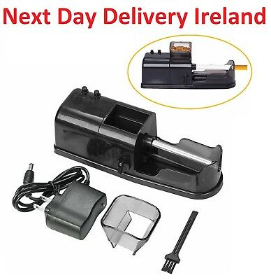 Electric Electronic Cigarette Rolling Machine Tobacco Roller Injector Maker