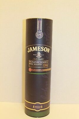 John Jameson Irish Whiskey Metal Empty Tin ~ JJ & S Limited Ireland