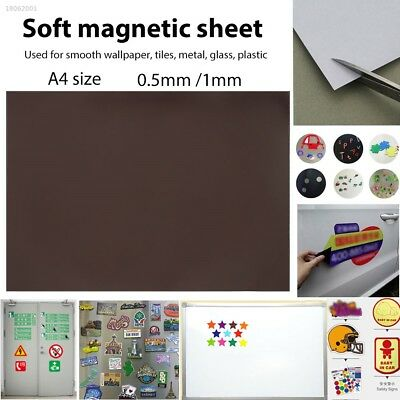 A55378B Soft Magnetic Sheet Magnetic Posts Magnet Piece Tools Refrigerator DIY