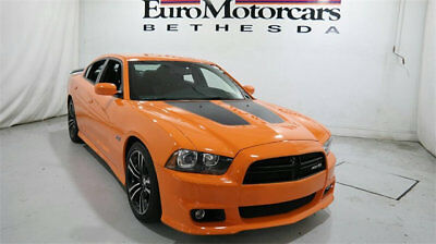 Dodge Charger 4dr Sedan SRT8 Super Bee RWD dodge charger srt8 srt 8 super bee 6.4 v8 used orange 15 14 black hemi navi auto