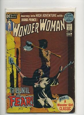 Wonder Woman #199 (Mar-Apr 1972, DC)
