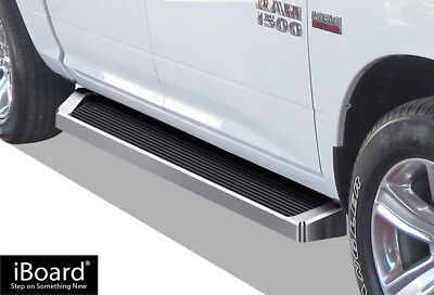iBoard Running Boards Style Fit 09-18 Dodge Ram 1500/2500/3500 Crew Cab