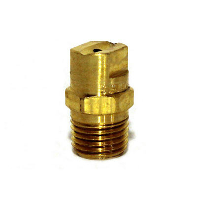 """Low Pressure Brass Threaded Nozzle, 1520 (15° Size #20), 1/4"""" MPT, 700 PSI"""