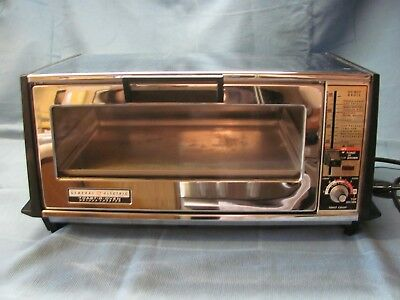 Vtg GE General Electric Deluxe Toast-R-Oven Deluxe Toaster Model A5T-94 1500w
