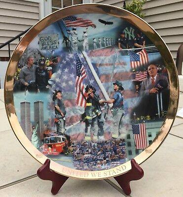 United We Stand Plate By The Danbury Mint