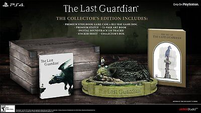The Last Guardian - Collector's Edition [PS4] New and Sealed!!