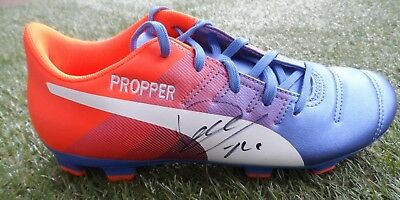 Davy Propper Hand Signed Embroidered Puma Football Boot - Brighton Autograph 80ed9cf8c