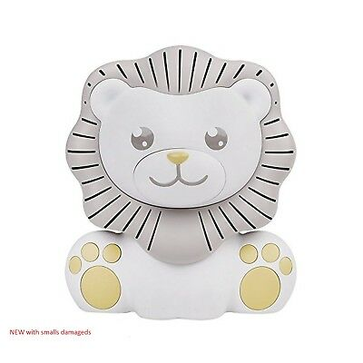 Project Nursery Lion Sound Soother and Nightlight - White/Gray