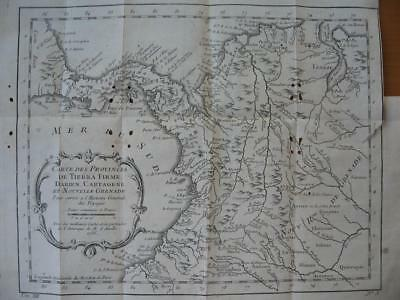 1757 - BELLIN - Map PANAMA COLOMBIA