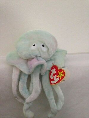 c911c67173d TY GOOCHY THE Jellyfish 18.11.98 MWMT Retired Beanie Babies Free UK ...