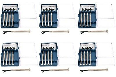 6 Pcs 5pc Precision SAE Wrench Set Clockmakers Model Tools