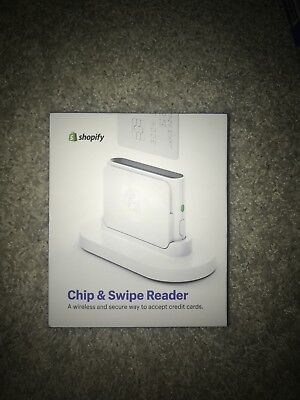 BRAND NEW Shopify Chip and Swipe Credit Card Reader /NEW