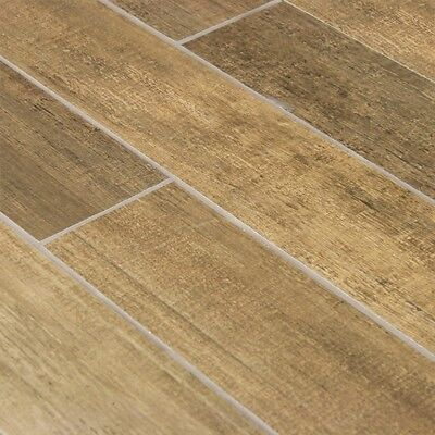 Italian ceramic tiles: 6 boxes x 5 tiles.  6 sqm of groovy wood look ceramic