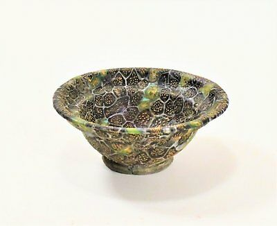 An Early Roman Mosaic Glass Patella Cup, ca. 1st Century B.C. - 1st Century A.D.