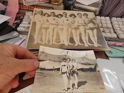 1927 Cabinet & Snaphot Photo, Hagenbeck & Wallace Circus Performers