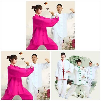 2016 New Chinese Kung Fu Suit Tai Chi Clothing Cotton Martial Art Uniform wushu