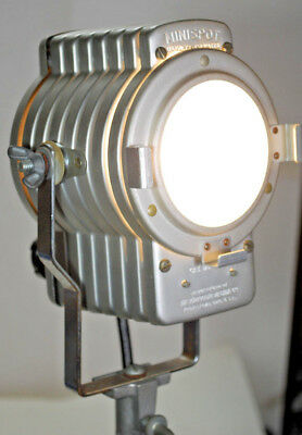 Vintage Tested Photogenic MINISPOT 7800 STUDIO LIGHT w/ Extra New FEV BULB