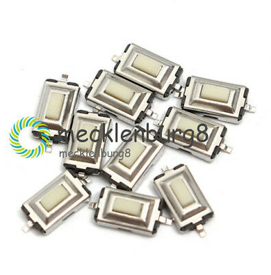 100PCS SMD 3X6X2.5mm Tactile Push Button Switch Tact Switch Micro Switch 2-Pin