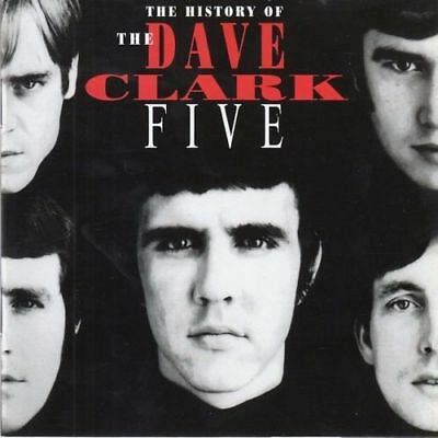 The History Of The Dave Clark Five 32Pg.book 2Cd [Free Same Day Shipping] Rare
