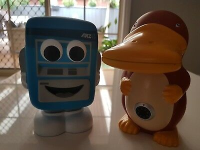 Anz And Commonwealth Bank Money Box