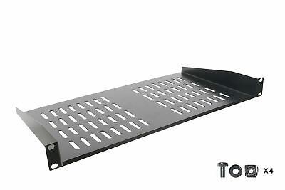 SimpleCord Rack Shelf - Universal Cantilever Vented 1U Rack Tray For 19-inch ...