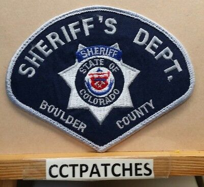 Boulder County, Colorado Sheriff Department (Police) Shoulder Patch Co