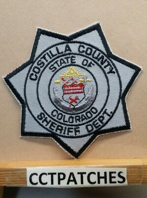 Costilla County, Colorado Sheriff (Police) Shoulder Patch Co
