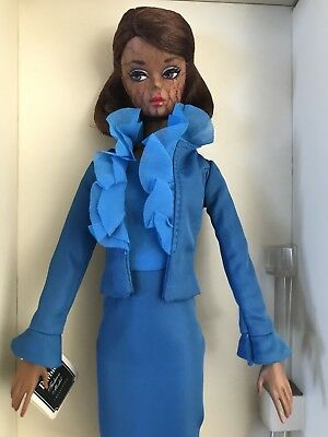 Gold Label Silkstone Barbie Doll. City Chic Suit. Fashion Model Collection. Nrfb