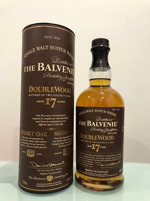 The Balvenie 17 Year Old DoubleWood Scotch Whisky 700mL @ 43 % abv